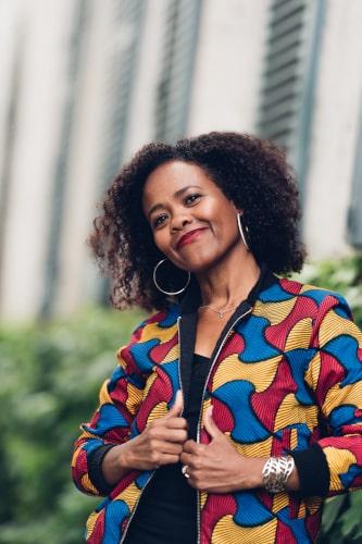 Amina partenaire de thierry elegua et professeure de lady cuban style