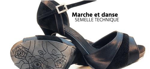 Offre partenaire Elegua chaussures de danse Walk & Danse
