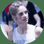 Claire danseuse de l'atelier chorégraphique et assistante de Thierry Elegua