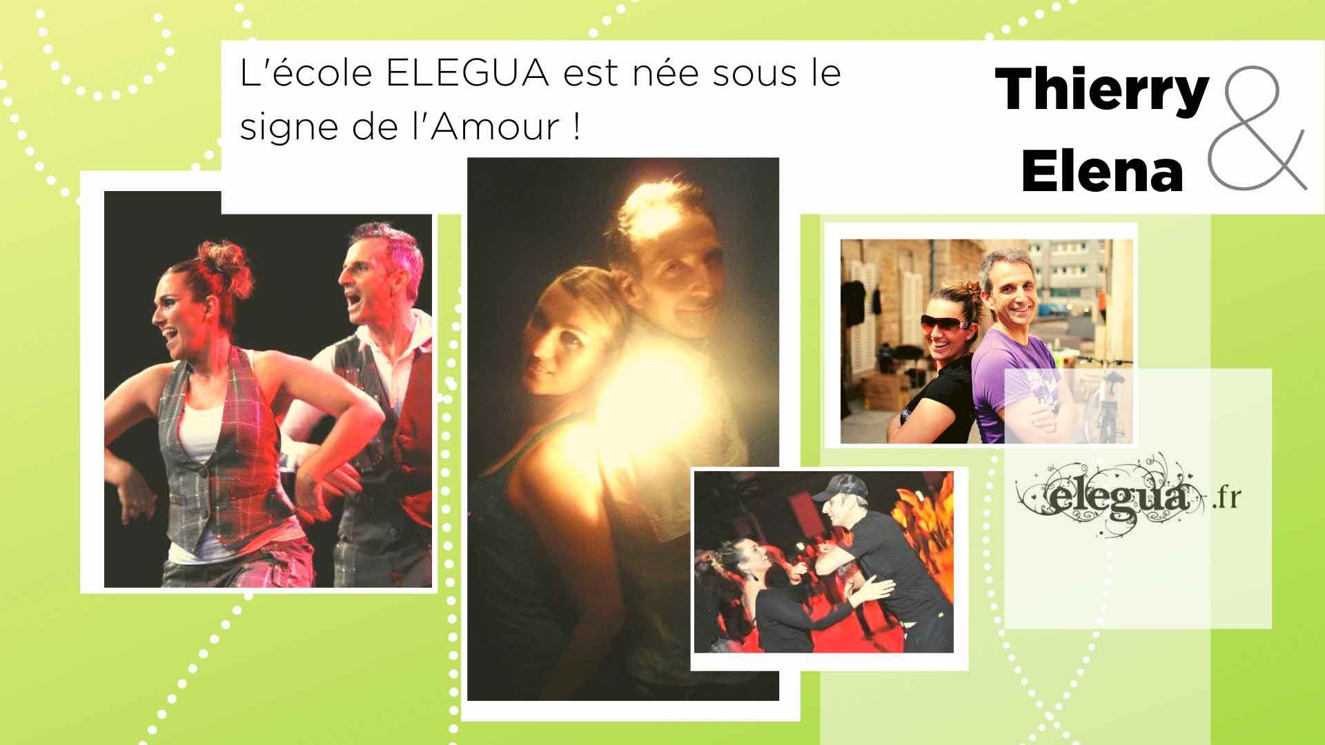L'ecole Elegua est née sous le signe de l'amour : Elena et Thierry elegua