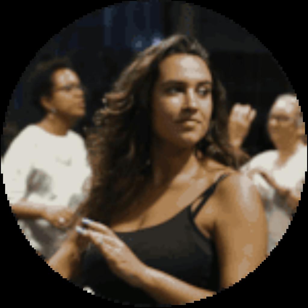 elodie assistante salsa cubaine de l'équipe Elegua