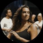 Elodie assistante salsa cubaine au sein l'équipe Elegua