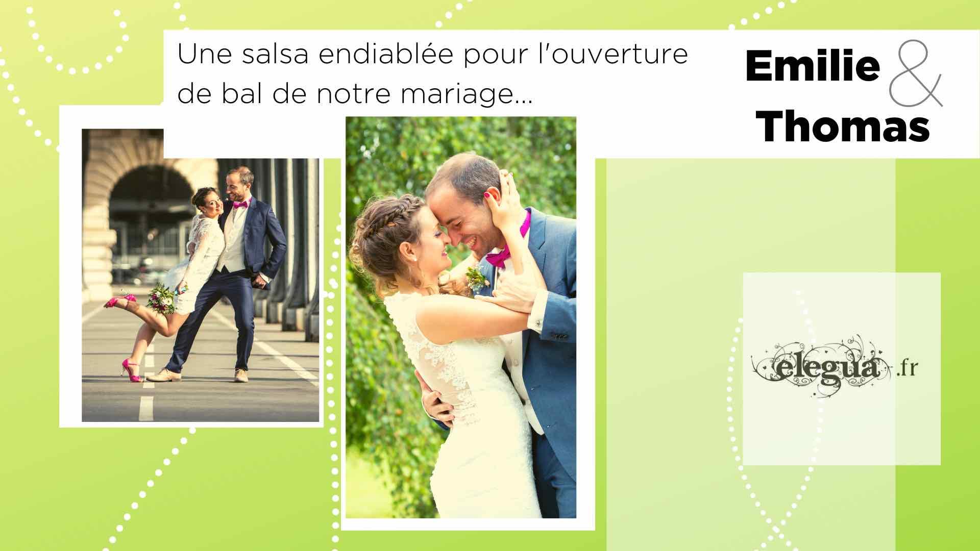 Ils ont rencontré l'amour chez Elegua :Emile et Thomas. Pour la Saint-Valentin 8 couples nous partagent leur histoire...