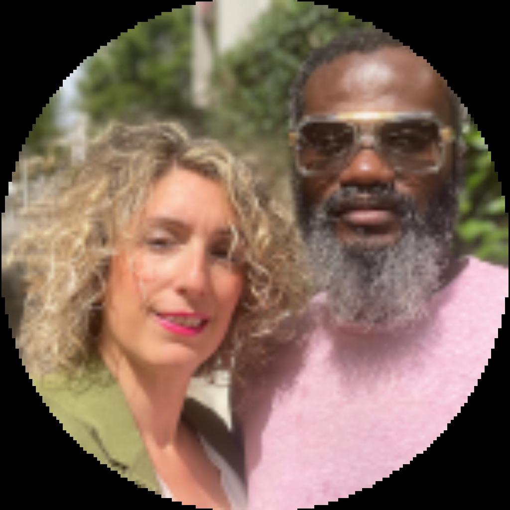 Madou et Milaine professeurs de Kizomba
