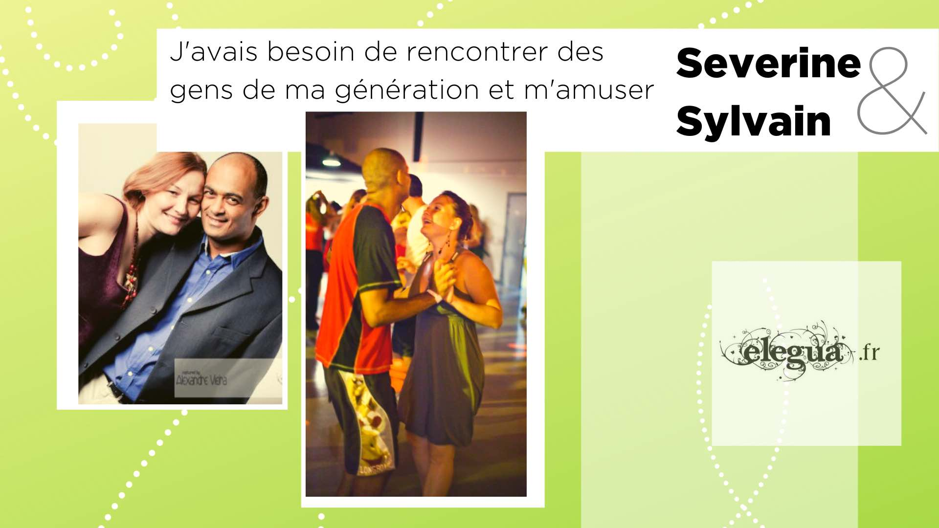Ils ont rencontré l'amour chez Elegua Severine et Sylvain. Pour la Saint-Valentin 8 couples nous partagent leur histoire...