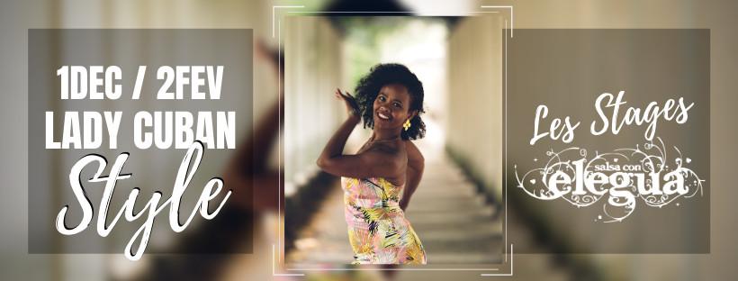 nouvelle edition des stages lady cuban style avec amina